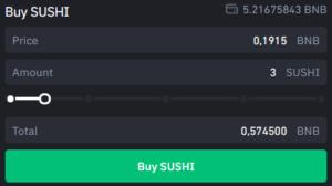 Limit Buy Order