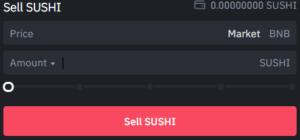 Market Sell Order